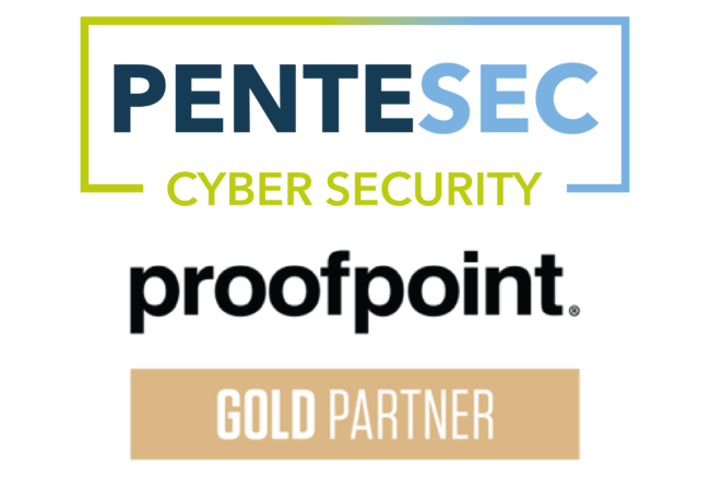 Pentesec Cyber Security are a Proofpoint Gold Partner
