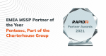 Rapid 7 MSSP Partner of the Year