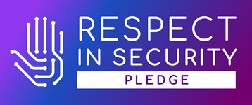 Respect In Security Pledge Badge